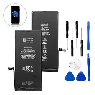 Insten Replacement Standard Battery with Repair Tool Kits for Apple iPhone 7 Plus (Model: A1661, A1784, A1785)