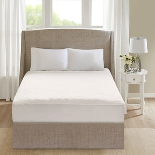 Link to Beautyrest Cotton White Deep Pocket Heated Mattress Pad-20 Heat Settings Similar Items in Mattress Pads & Toppers