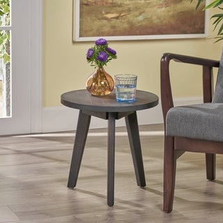 Capriole Indoor Farmhouse Acacia Wood Side Table by Christopher Knight Home