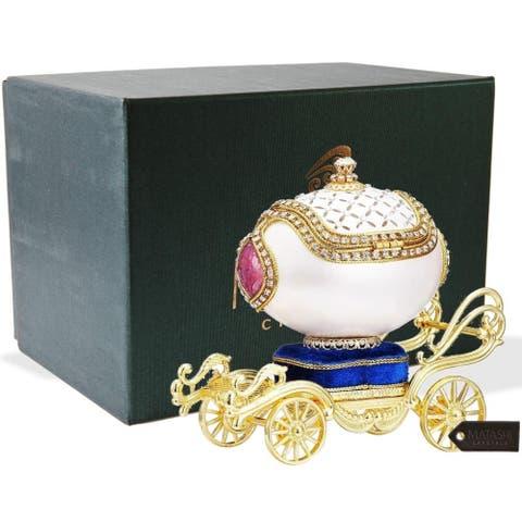 Princess Carriage Trinket Music Box