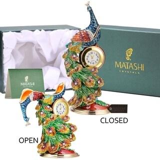 Peacock Trinket Box