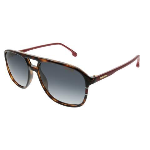 Carrera Aviator Carrera 173/S O63 9O Unisex Havana Red Frame Dark Grey Gradient Lens Sunglasses