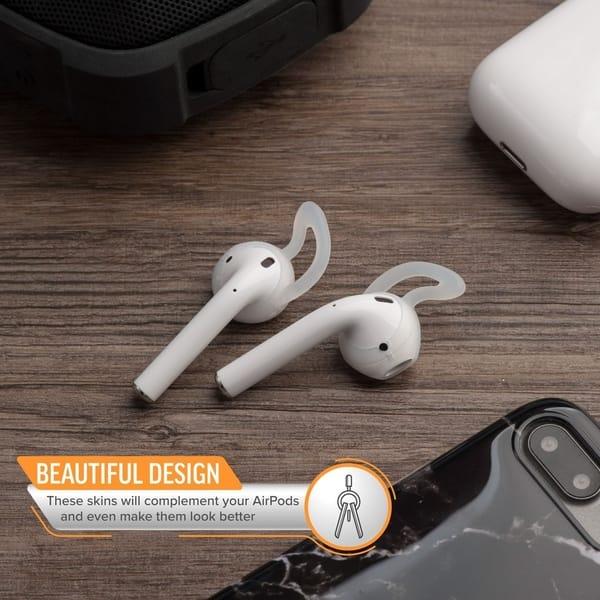 Shop Airpods 1 2 Skin Case Insten 1 Pair Set Airpod