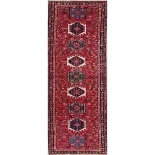 Copper Grove Liberec Hand-knotted Geometric Wool Area Rug - 12'9 x 3'4