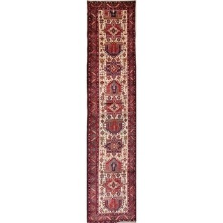 "Copper Grove Kristinestad Geometric Hand-knotted Wool Heirloom Item Runner Rug - 14'6"" x 3'3"" runner"