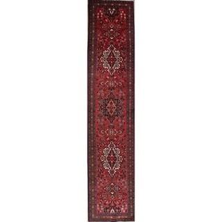 Copper Grove Laitila Geometric Handmade Wool Heirloom Item Runner Rug - 3'6 x 16'7