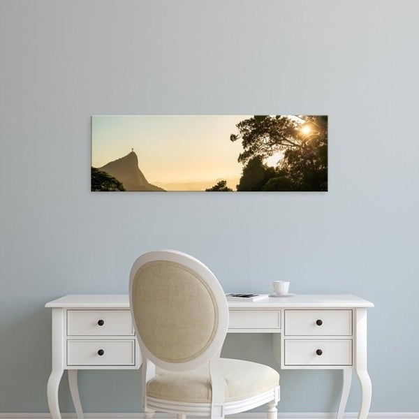 Easy Art Prints Panoramic Images's 'View from Chinese pavilion, Rio de Janeiro, Brazil' Premium Canvas Art