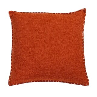 """Thro Set of 2 20"""" Georgetown Chunky Weave Whipstitch Pillows"""