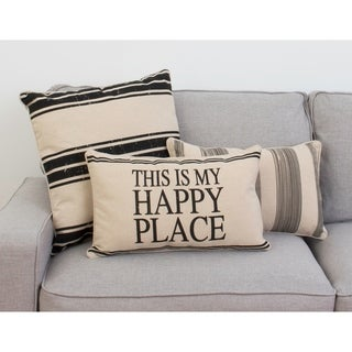 Thro 12x20 Tricia This Is My Happy Place Pillow