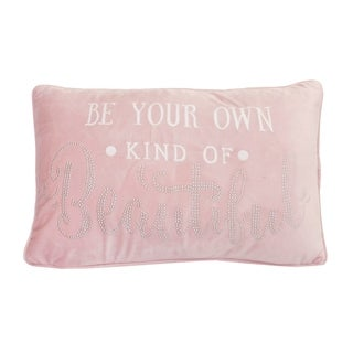 Thro 12x20 Barb Be Your Own Kind of Beautiful Studded Barbara Velvet Pillow