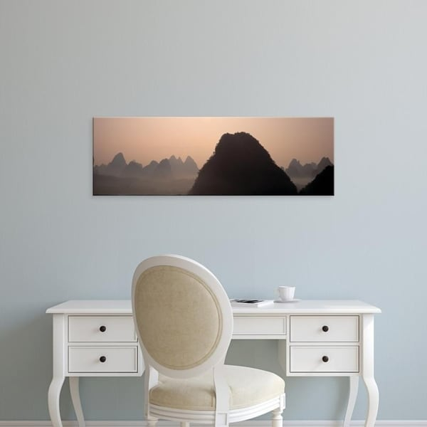Easy Art Prints Panoramic Images's 'Guilin, China' Premium Canvas Art