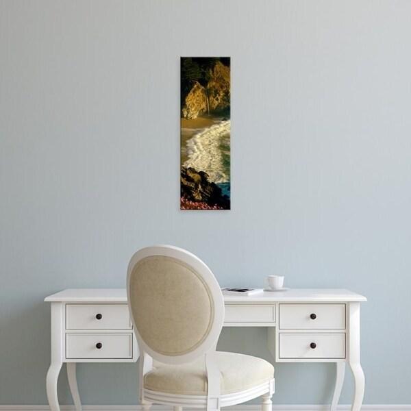 Easy Art Prints Panoramic Images's 'McWay Falls, Julia Pfeiffer Burns State Park, Monterey, California' Canvas Art