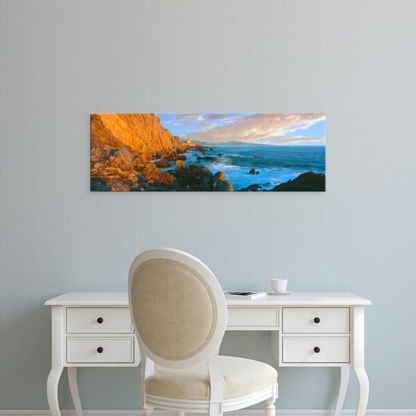 Easy Art Prints Panoramic Images's 'Boutique Hotel, Cerritos Beach, Todos Santos, Baja California Sur, Mexico' Canvas Art