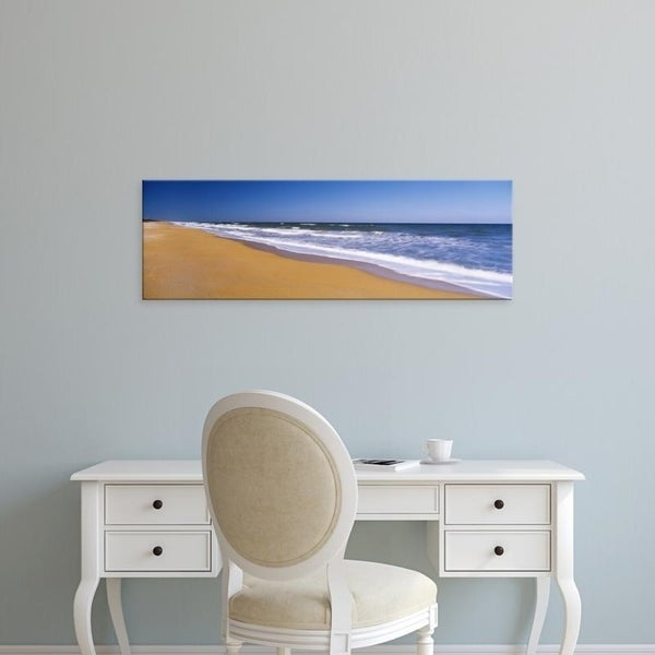 Easy Art Prints Panoramic Images's 'Route A1A, Atlantic Ocean, Flagler Beach, Florida, USA' Premium Canvas Art