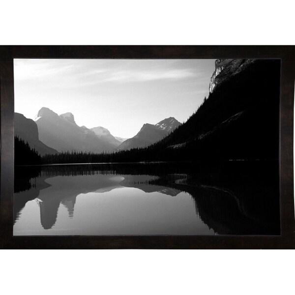 "Lake Louise Reflection Canada-HARLAN53605 Print 12""x18"" by Harold Silverman - Landscapes"