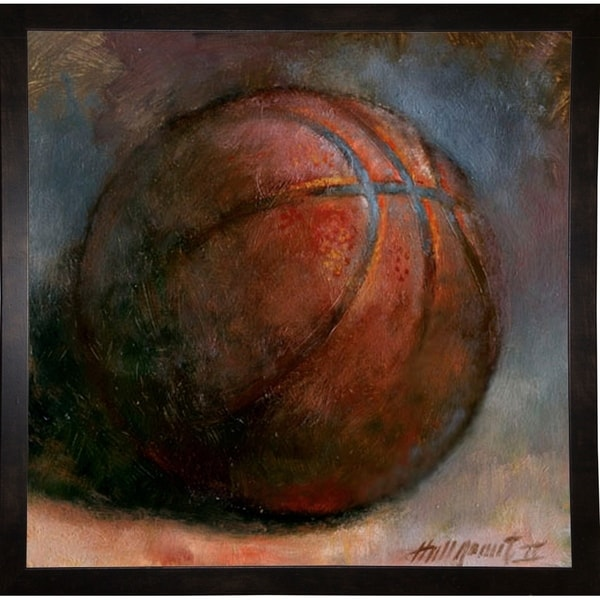 "Basketball-HALGRO111540 Print 10""x10"" by Hall Groat II"