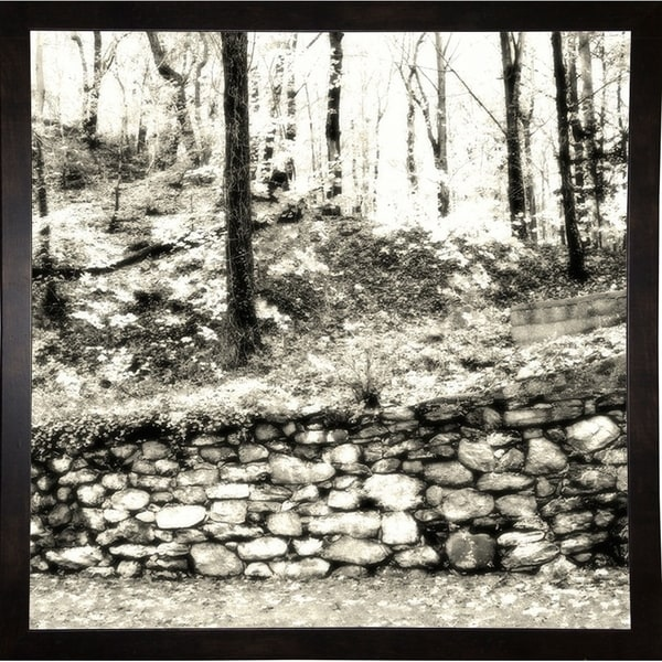 """Front Wall And Woods-HARLAN71225 Print 18""""x18"""" by Harold Silverman - Landscapes"""
