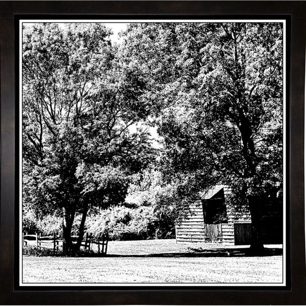 """Country Living-HARTRE87177 Print 20""""x20"""" by Harold Silverman - Trees & Old Fences"""