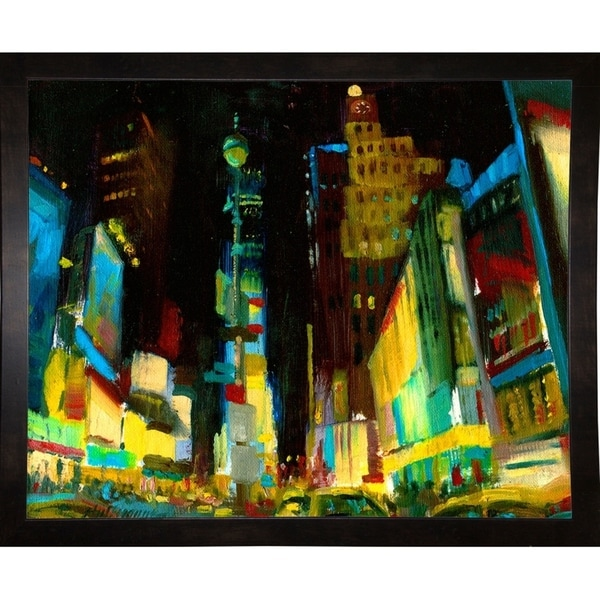 "Times Square II-HALGRO116063 Print 21.75""x27"" by Hall Groat II"