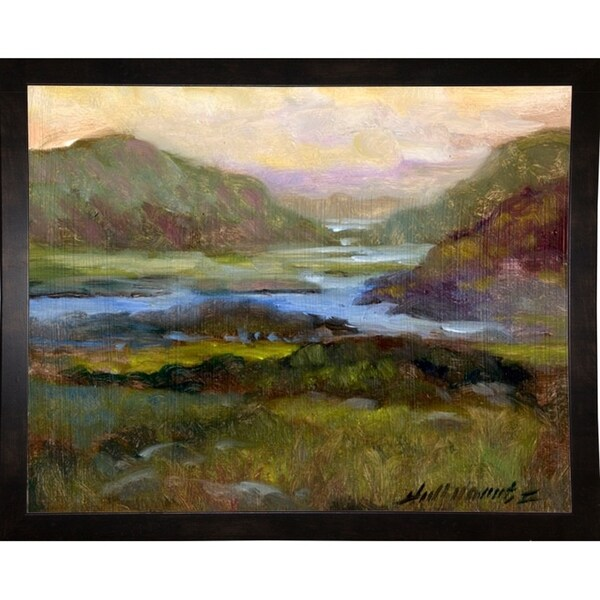 "County Cork #14-HALGRO111638 Print 10""x12.5"" by Hall Groat II"