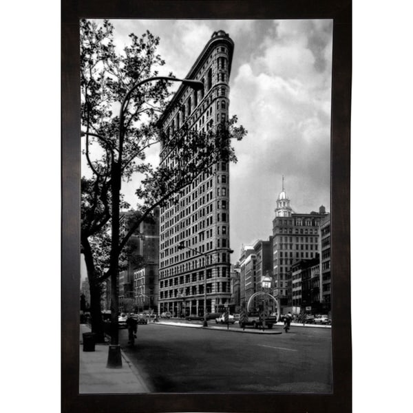 """Flat Iron Building Classic-HARBUI58976 Print 16""""x10.75"""" by Harold Silverman - Buildings & Cityscapes"""