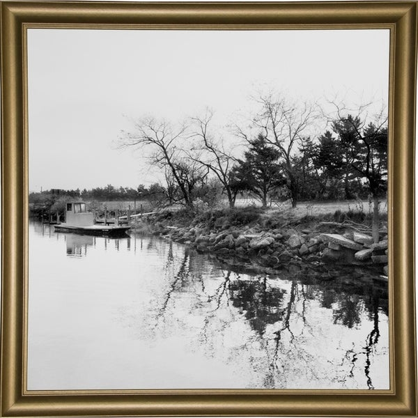 """The Boat Ramp-HARLAN75653 Print 20""""x20"""" by Harold Silverman - Landscapes"""