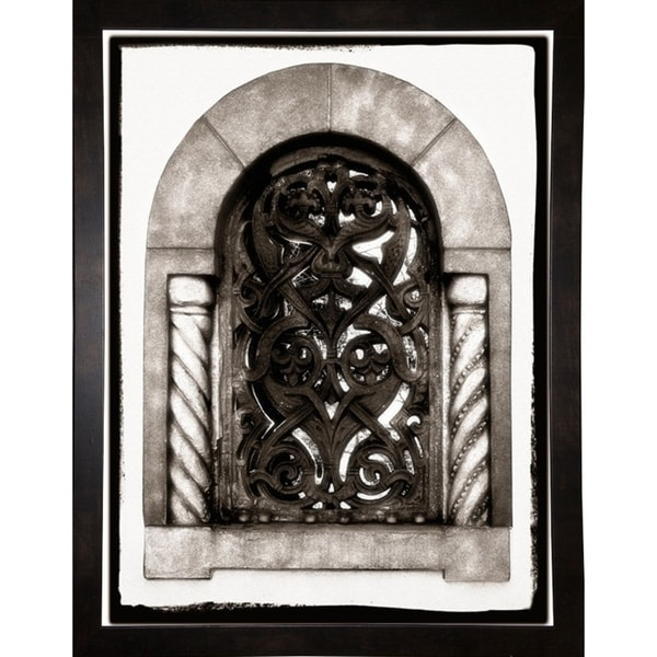 "Stone Window-HARBUI57878 Print 15.75""x11.75"" by Harold Silverman - Buildings & Cityscapes"