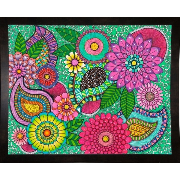 "Paisley Garden-HELANG140433 Print 16.25""x20.25"" by Hello Angel"