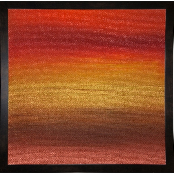 """Dreaming of 21 Sunsets - Canvas IV-HILWIN110920 Print 5.5""""x5.5"""" by Hilary Winfield"""