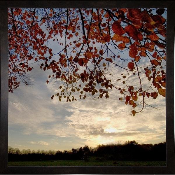 "Sundown Square-HARLAN78956 Print 20""x20"" by Harold Silverman - Landscapes"