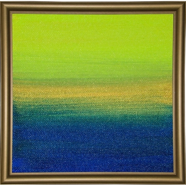 """Dreaming of 21 Sunsets - Canvas XI-HILWIN110927 Print 5.5""""x5.5"""" by Hilary Winfield"""