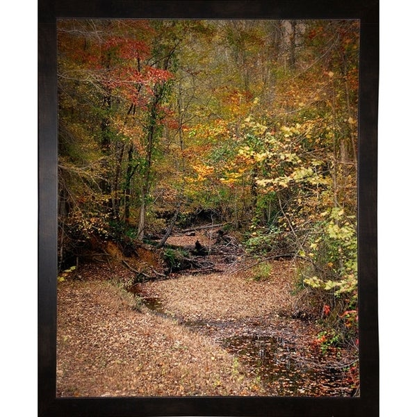 "Creek Bed in Autumn-JAIJOH140025 Print 13.25""x10.75"" by Jai Johnson"