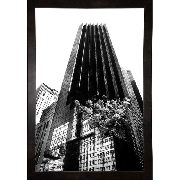 "Trump Tower-HARBUI68914 Print 20.5""x12.5"" by Harold Silverman - Buildings & Cityscapes"
