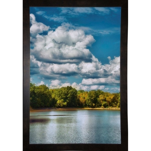 "Clouds Over The River Cove-JAIJOH140017 Print 20""x13.25"" by Jai Johnson"