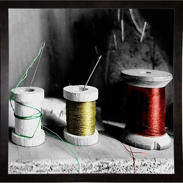 "Thread Spools-HARMSC70288 Print 18""x18"" by Harold Silverman - Msc."