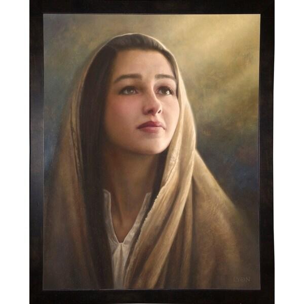 "Blessed Art Thou-HOWLYO128884 Print 16.25""x12.75"" by Howard Lyon"