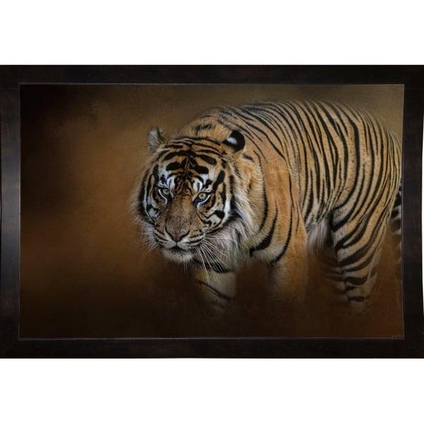 "Bengal Stare-JAIJOH139668 Print 13.25""x20"" by Jai Johnson"