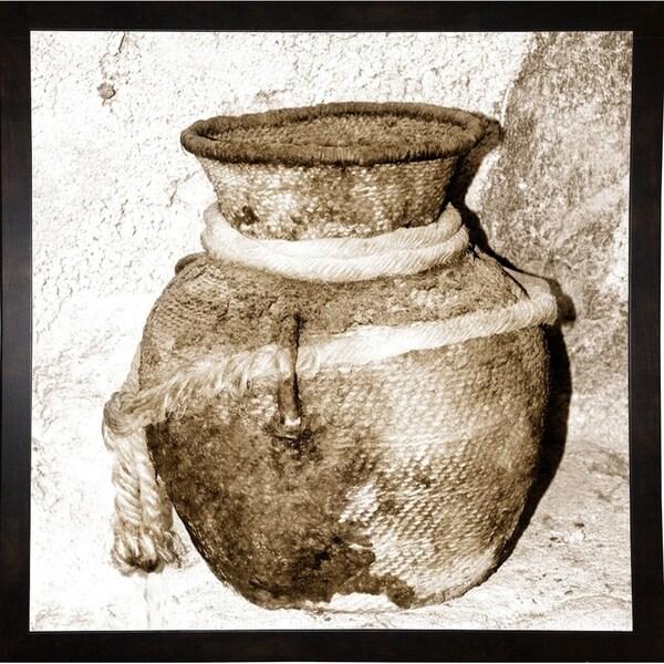 "Antique Aged Bowl-HARMSC78304 Print 20""x20"" by Harold Silverman - Msc."