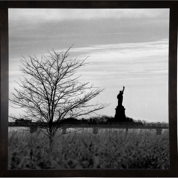 "Liberty Tree-HARBUI75629 Print 20""x20"" by Harold Silverman - Buildings & Cityscapes"