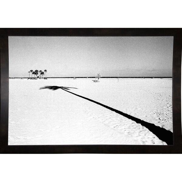"Long Shadow-HARBEA74171 Print 17""x25.5"" by Harold Silverman - Beach, Palms & Lighthouses"