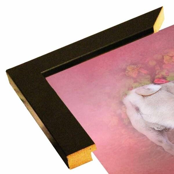 "Pug In The Garden-JAIJOH140358 Print 20""x20"" by Jai Johnson"