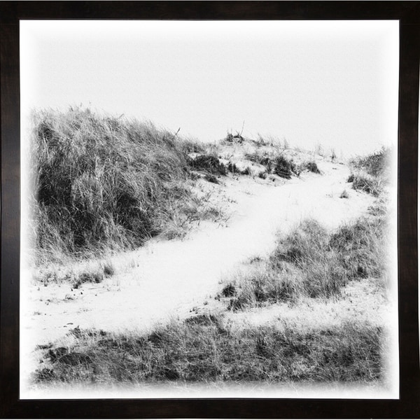 """Over The Dune To Beach-HARBEA78030 Print 20.25""""x20.25"""" by Harold Silverman - Beach, Palms & Lighthouses"""