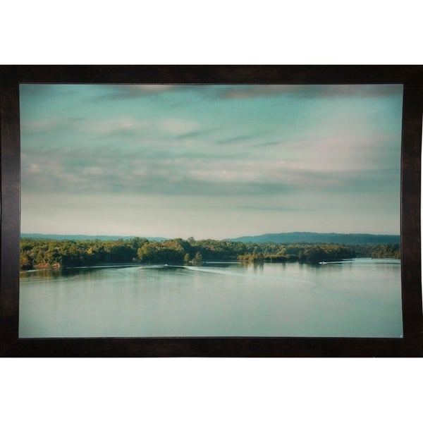 "Sunrise On The River-JAIJOH140109 Print 13.25""x20"" by Jai Johnson"
