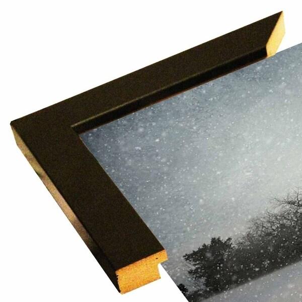 """Snowing At The Old Barn-JAIJOH140990 Print 13.25""""x20"""" by Jai Johnson"""
