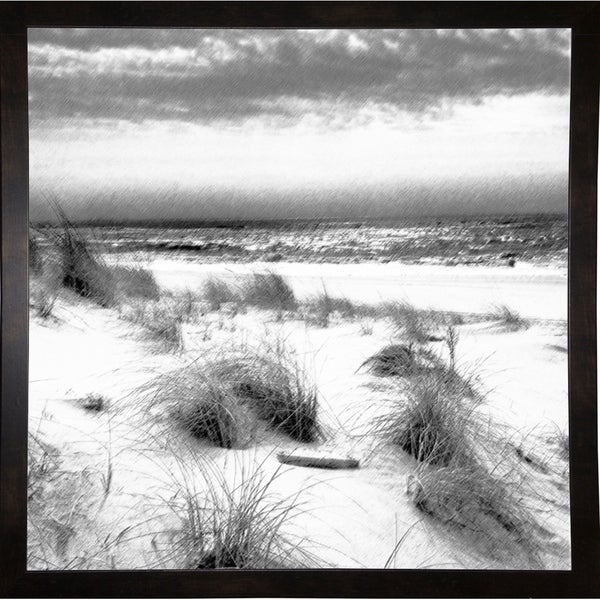 """Moses Park And Ocean-HARBEA78031 Print 24.25""""x24.25"""" by Harold Silverman - Beach, Palms & Lighthouses"""