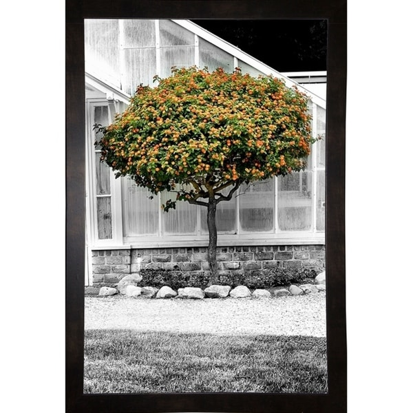 "Hot House With Tree-HARTRE84818 Print 20""x13"" by Harold Silverman - Trees & Old Fences"