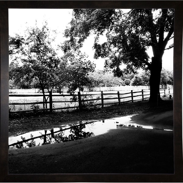 """After The Rain 2-HARTRE76271 Print 20""""x20"""" by Harold Silverman - Trees & Old Fences"""