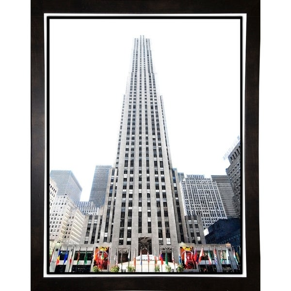 "Top of the Rock to the Top-HARBUI106418 Print 18.25""x14"" by Harold Silverman - Buildings & Cityscapes"