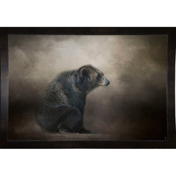 """Grizzly At Rest-JAIJOH139769 Print 13.25""""x20"""" by Jai Johnson"""