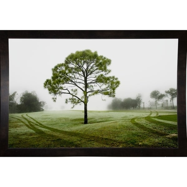 """Field Of Fog And Tree-HARTRE80601 Print 13""""x20"""" by Harold Silverman - Trees & Old Fences"""